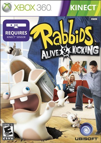 Xbox 360 Rabbids Alive & Kicking Video Game T783