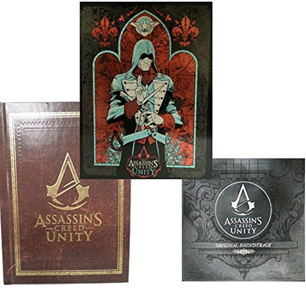 Assassin's Creed: Unity Bundle Steelbook, Art Book and Original Soundtrack