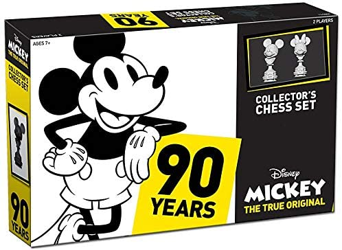 CHESS MICKEY THE TRUE ORIGINAL COLLECTOR'S SET