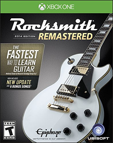 Xbox One Rocksmith 2014 Edition Remastered Video Game