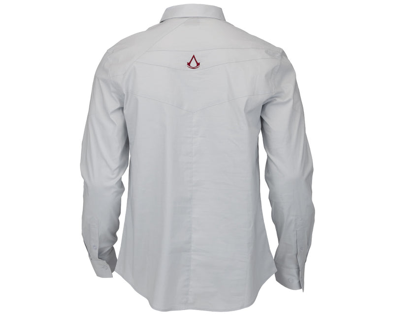 Ezio Auditore Dress Shirt - Assassin's Creed Legacy Edition - Light Grey (X-Large)