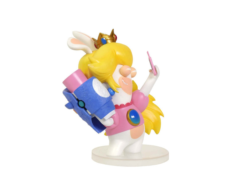 Rabbid Peach 3'' Figurine - Mario + Rabbids Kingdom Battle