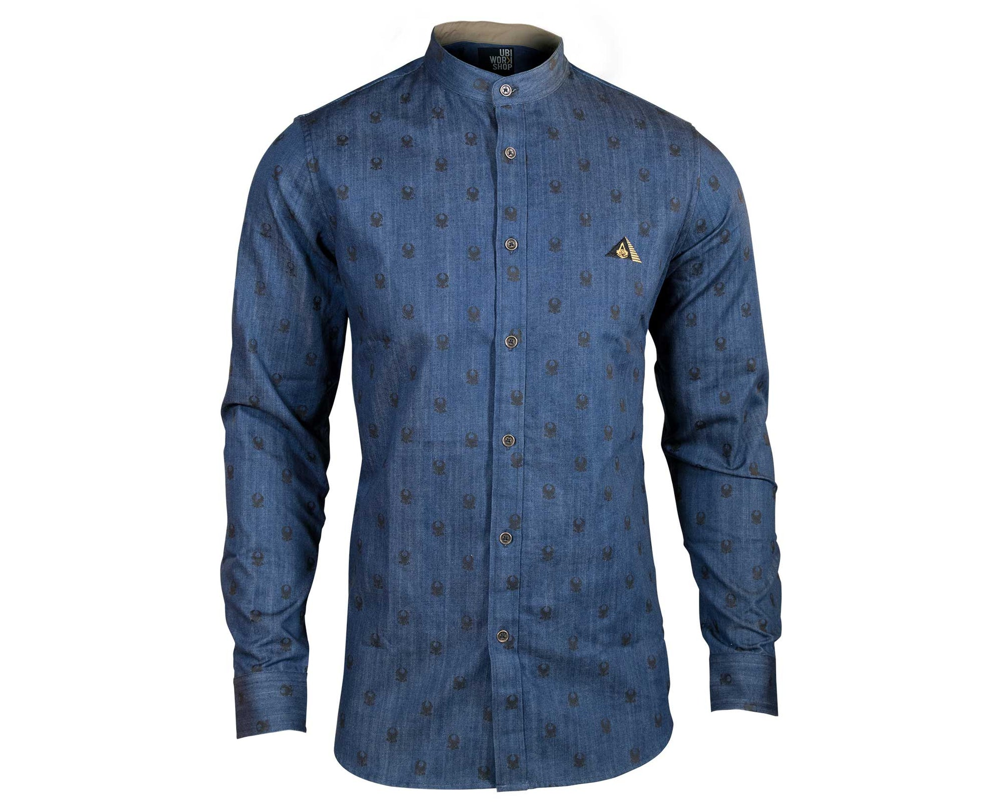 Bayek Dress Shirt Navy - Assassin's Creed Origins