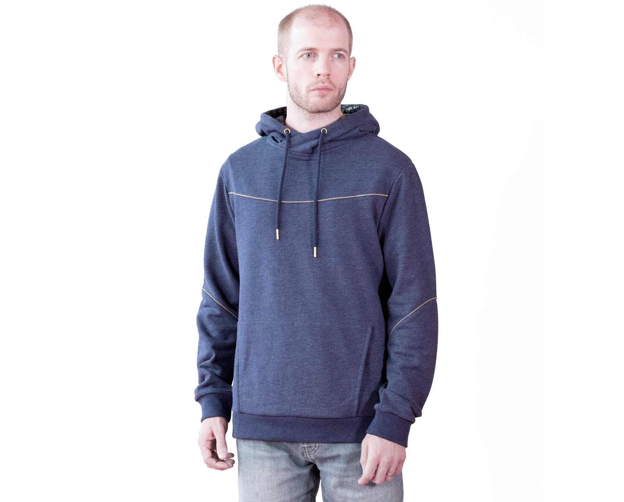 Medjay Sweater / Cowl Neck Hoodie Navy - Assassin's Creed Origins