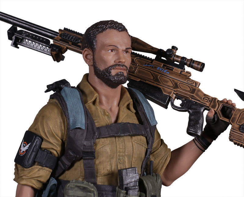 Tom Clancys The Division 2 PVC Statue Brian Johnson Agent 25cm Ubisoft