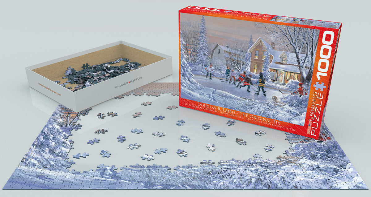 EuroGraphics The Original Six 1000 pcs Puzzle