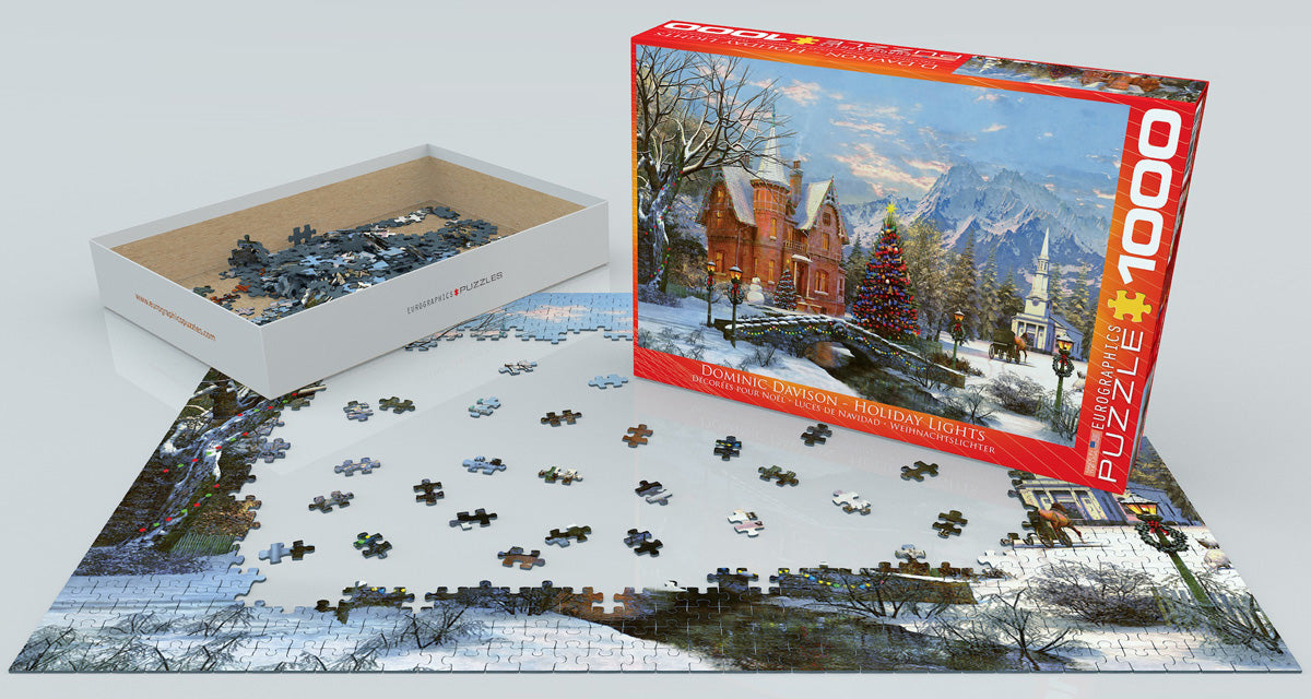 EuroGraphics Holiday Lights 1000 pcs Puzzle