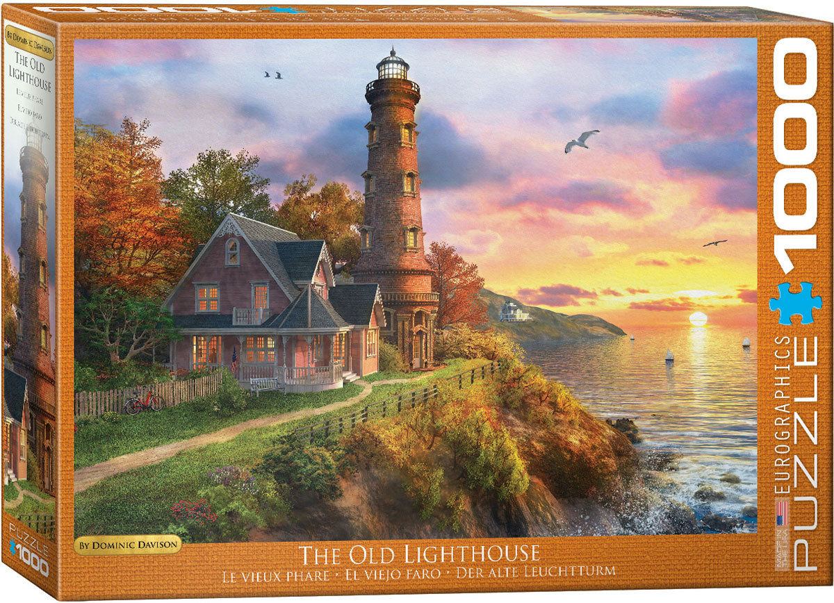 The Old Lighthouse - 1000 pcs Puzzle