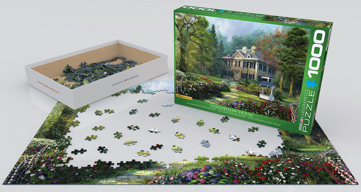 EuroGraphics Longfellow House 1000 pcs Puzzle