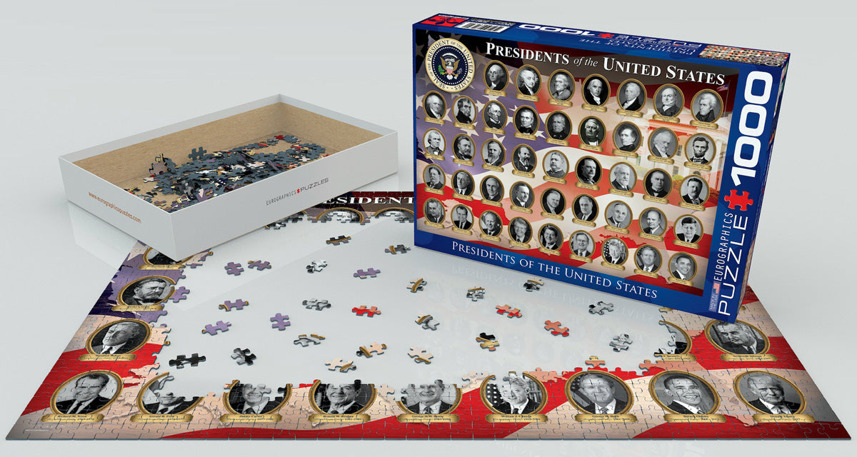 EuroGraphics Presidents of the United States 1000 pcs Puzzle