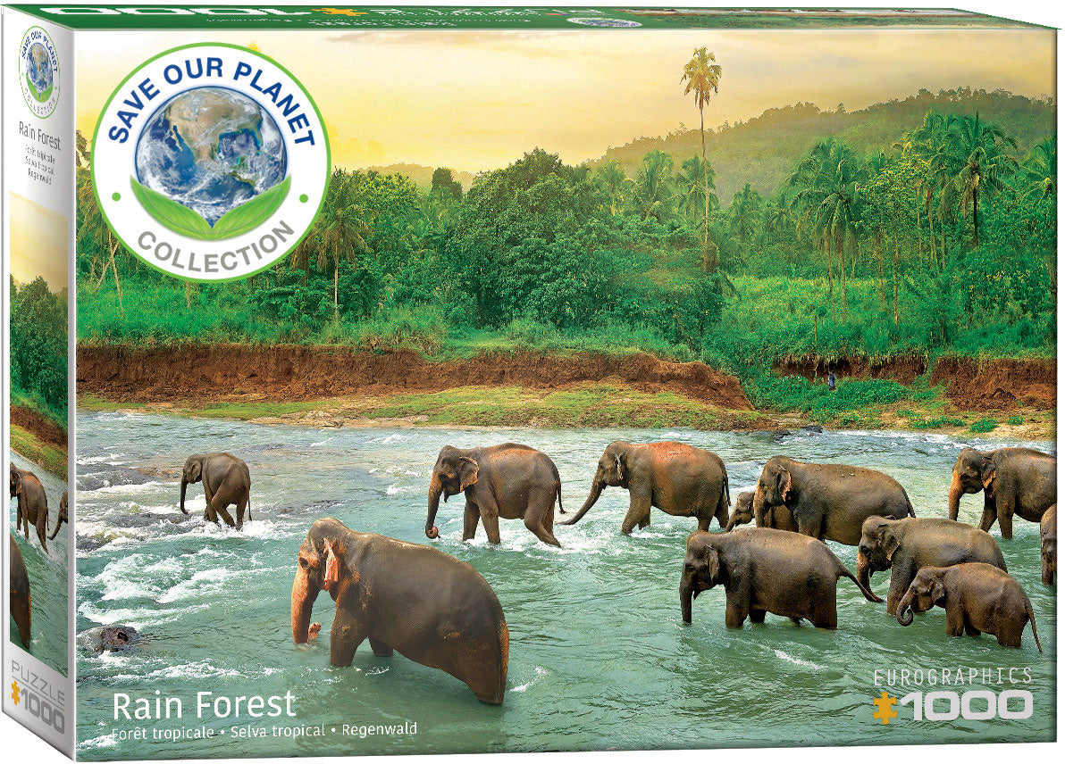 EuroGraphics Rainforest 1000 pcs Puzzle