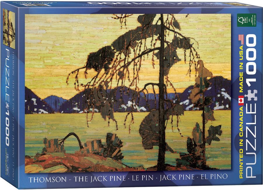 EuroGraphics The Jack Pine 1000 pcs Puzzle