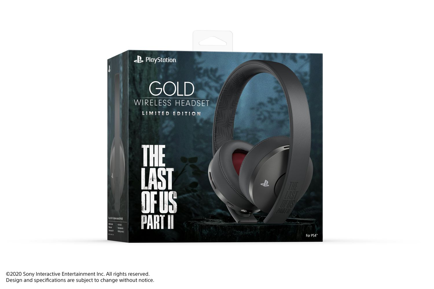 Gold Wireless Headset – The Last of Us Part II Limited Edition (PS4)