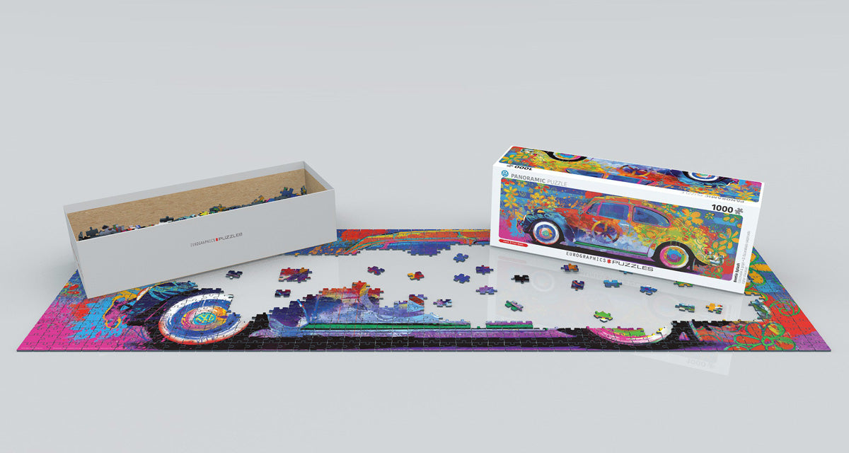 Beetle Splash - 1000 pcs Panoramic Puzzle