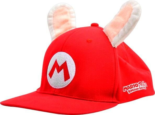 Ubisoft - Mario + Rabbids Kingdom Battle Cap