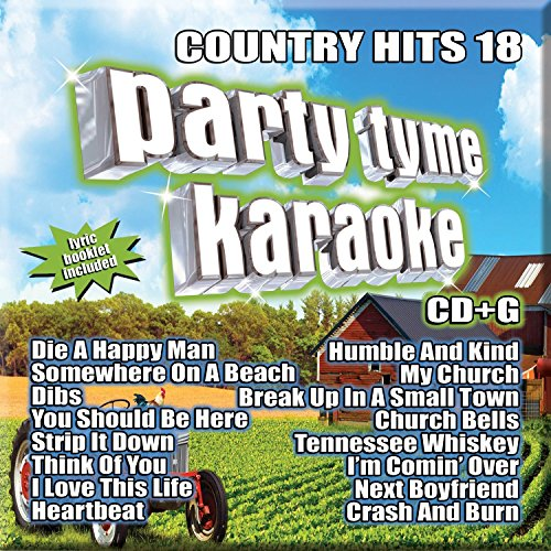 Country Hits 18 [Audio CD] Sybersound Karaoke