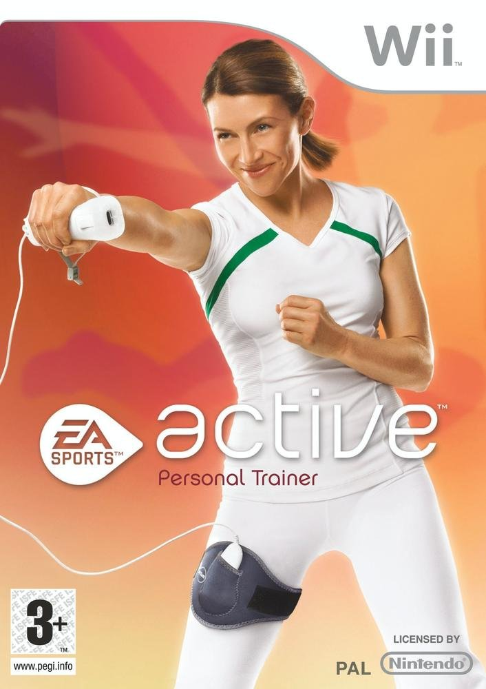 Nintendo Wii Active Personal Trainer Video Game T874