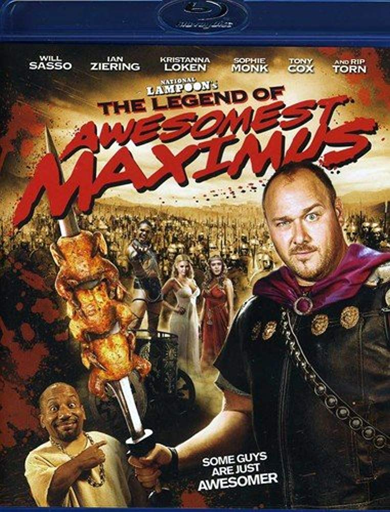 The Legend of Awesomest Maximus [Blu-ray] [Blu-ray]