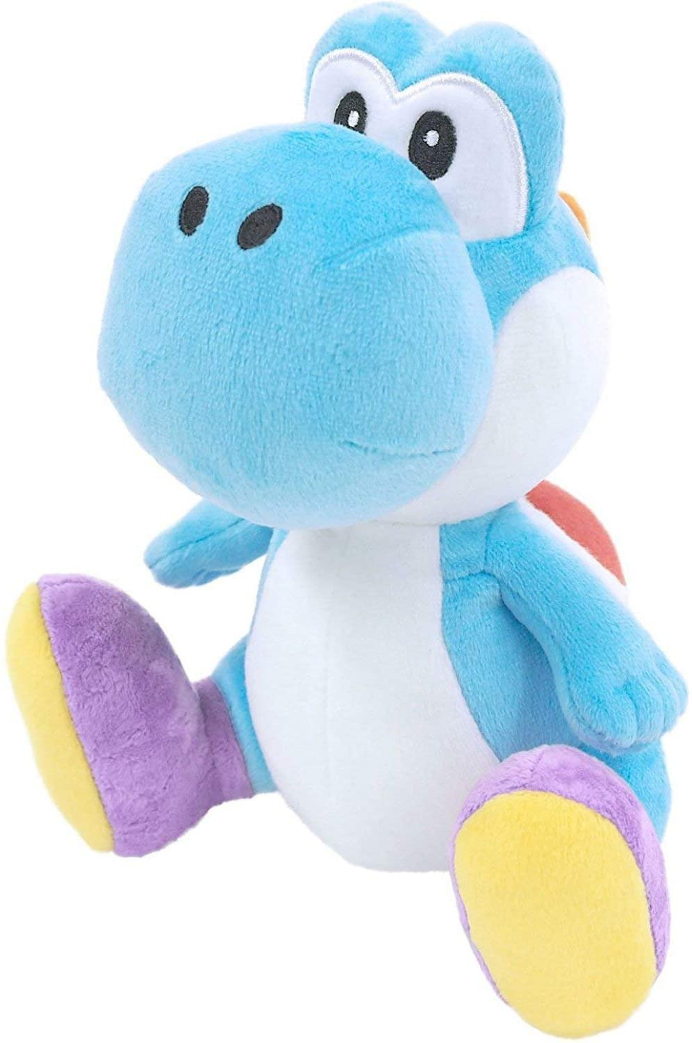PLUSH YOSHI 8'' LIGHT BLUE