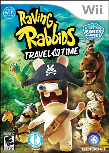 Wii Raving Rabbids Travel In Time Video Game Nintendo T797