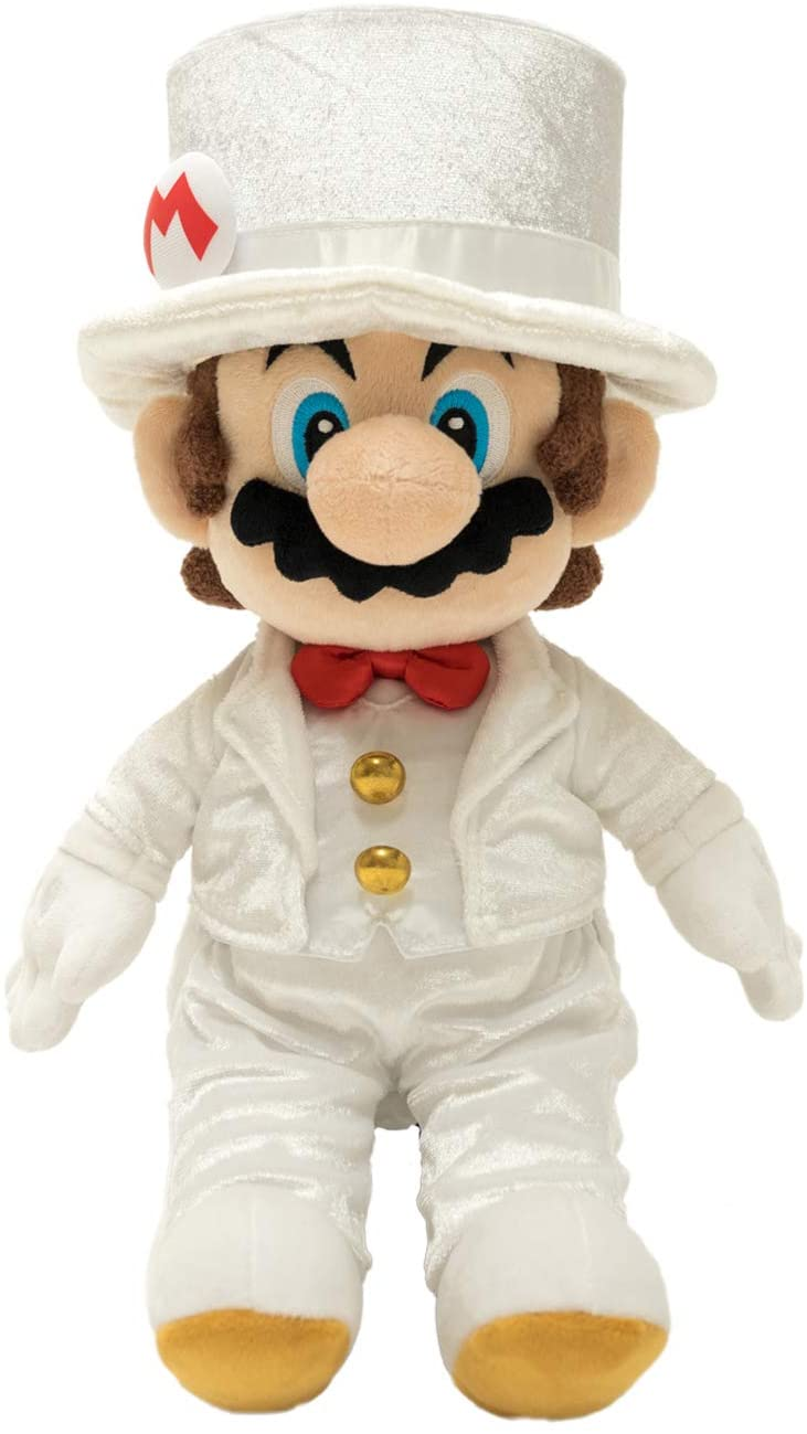 MARIO GROOM PLUSH 16''