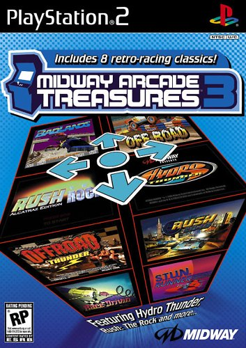 PS2 Midway Arcade Treasures 3 Video Game Playstation T804