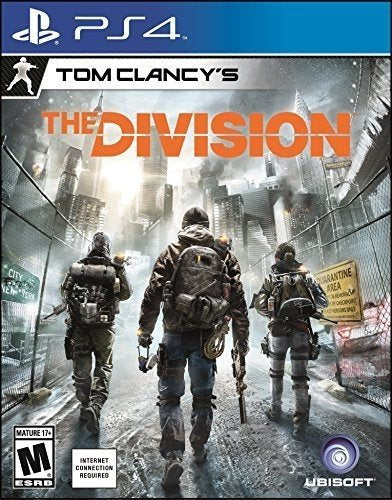 PS4 The Division Video Game PlayStation 4