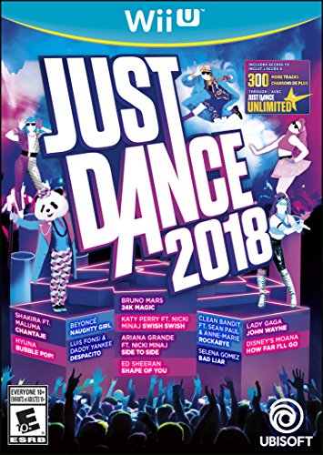 Wii U Just Dance 2018 Video Game