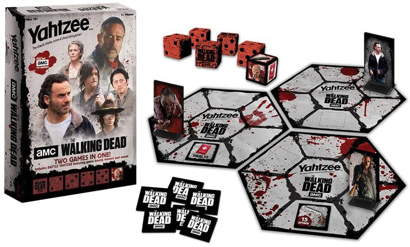 YAHTZEE WALKING DEAD AMC (BATTLE YAHTZEE)