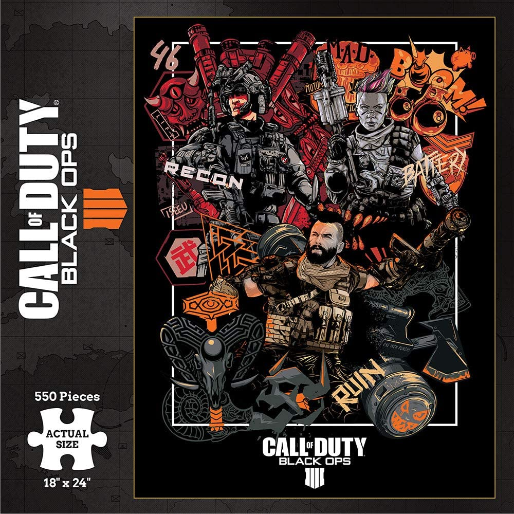 PUZZLE CALL OF DUTY BLACK OPS 4 (SPECIALIST) (550 PCS)