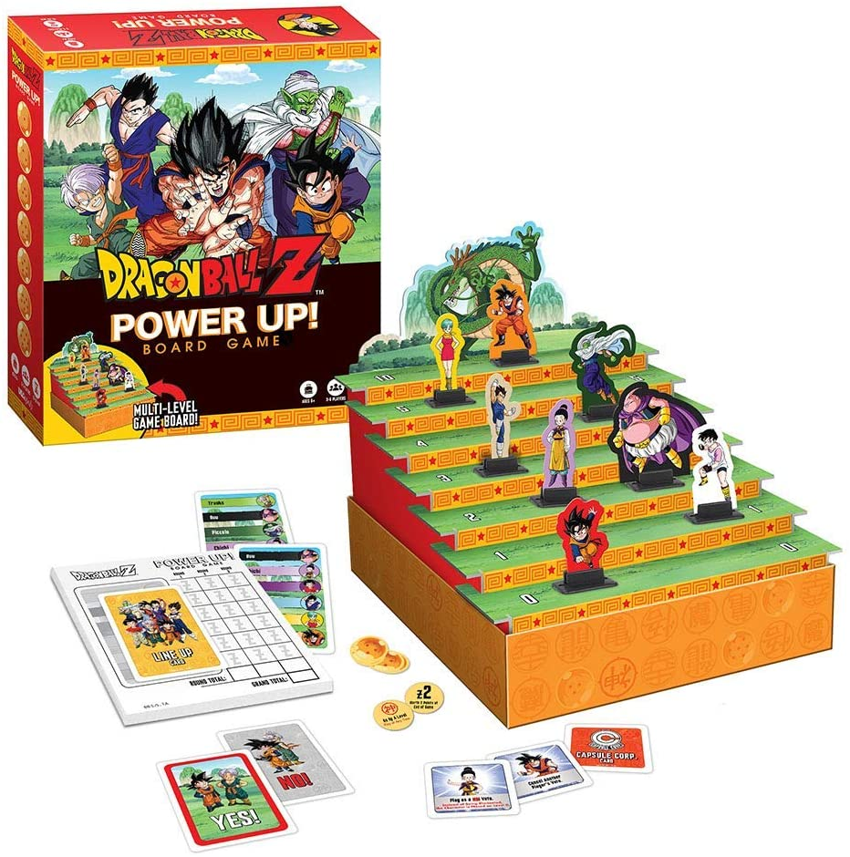 POWER UP! DRAGON BALL Z (STRATEGY BOARD GAME)