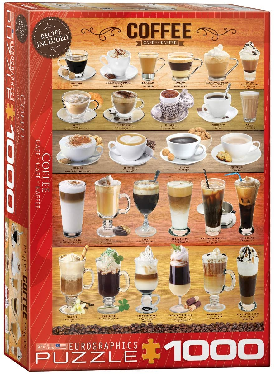 PUZZLE COFFEE COLLAGE (1000 PCS)