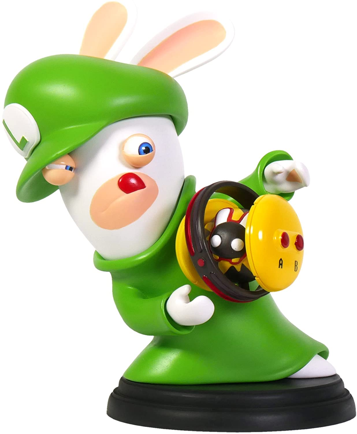 Rabbid Luigi 3'' Figurine - Mario + Rabbids Kingdom Battle