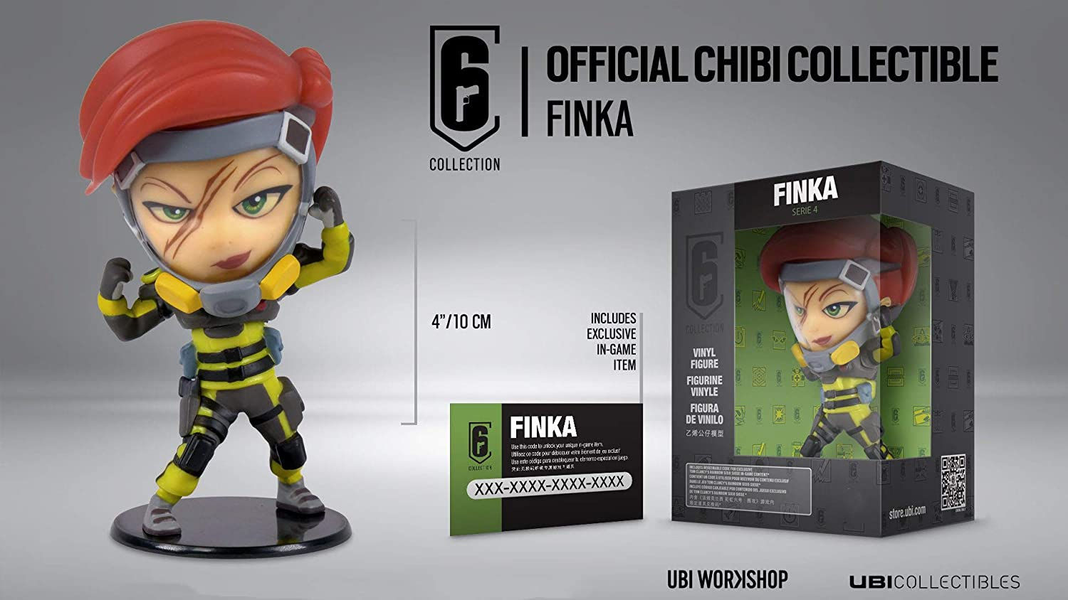 Rainbow Six Siege Collection Figurine Series 4 Finka Chibi