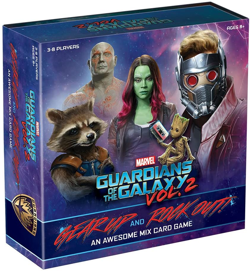 CARD GAME GUARDIANS OF THE GALAXY VOL. 2 (GEAR UP & ROCK OUT)