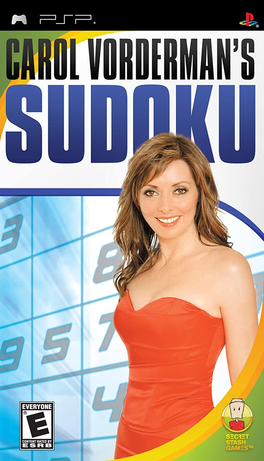 Playstation PSP Carol Vorderman's Sudoku Video Game T1138