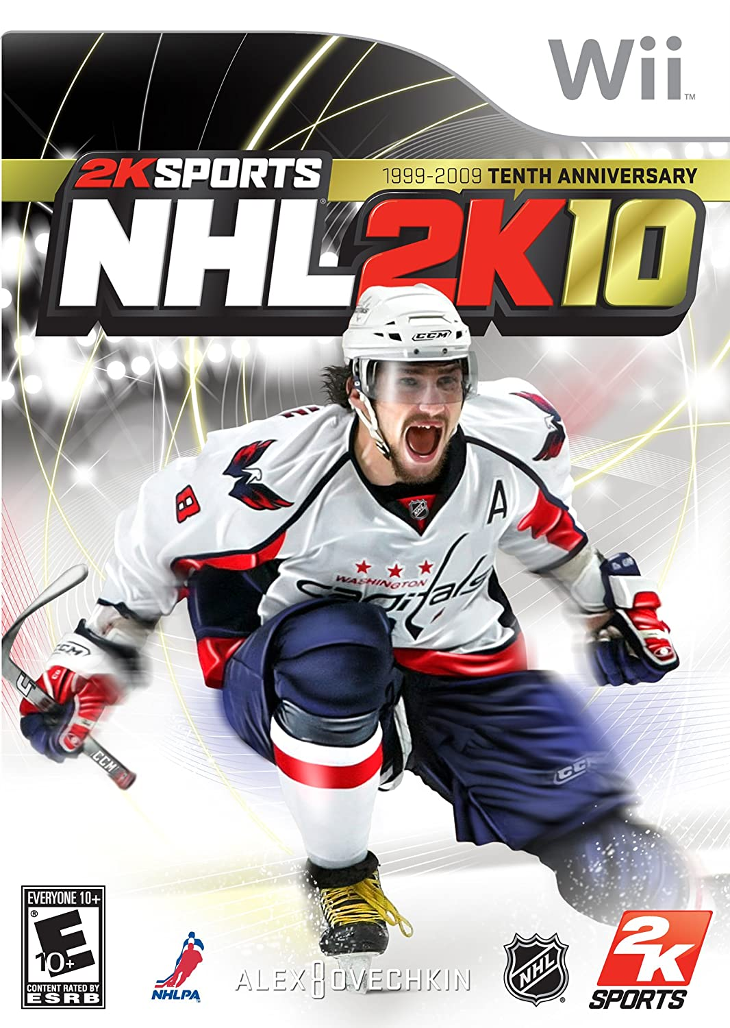 Nintendo Wii NHL 2K10 Video Game T874