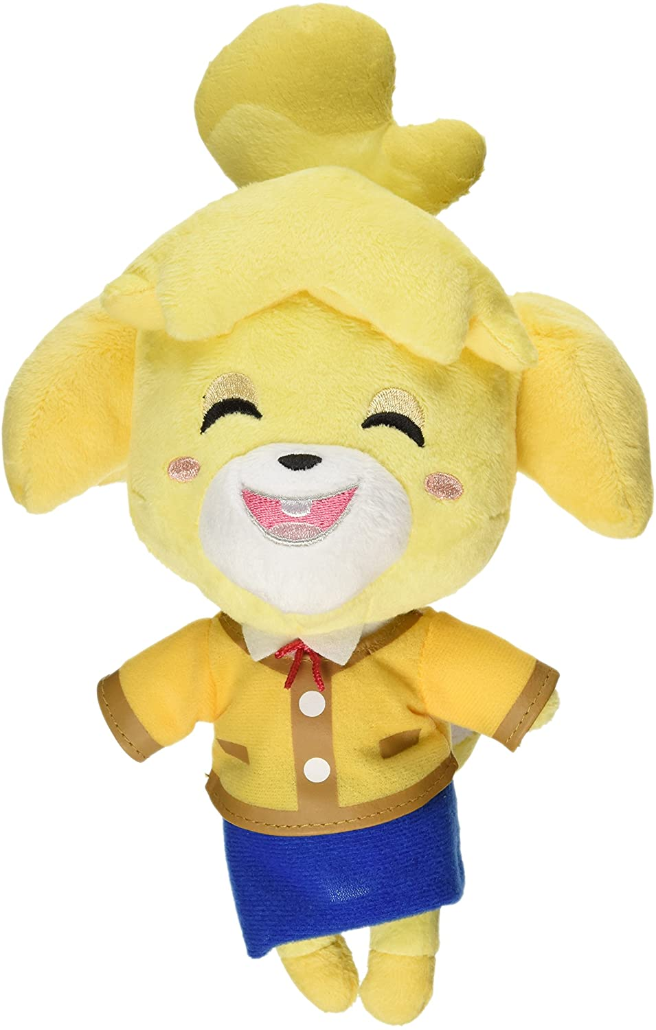 "LITTLE BUDDY ANIMAL CROSSING SMILING ISABELLE 6"" PLUSH"