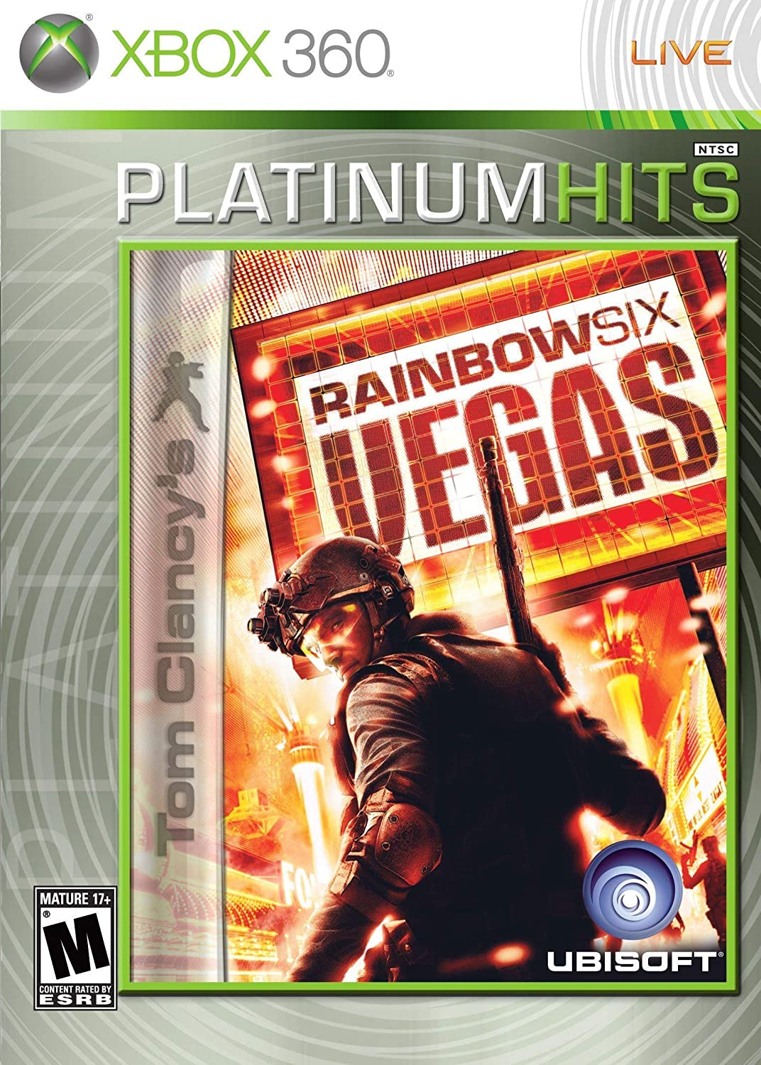 Xbox 360 Rainbow Six Vegas Platinum Hits Video Game T894