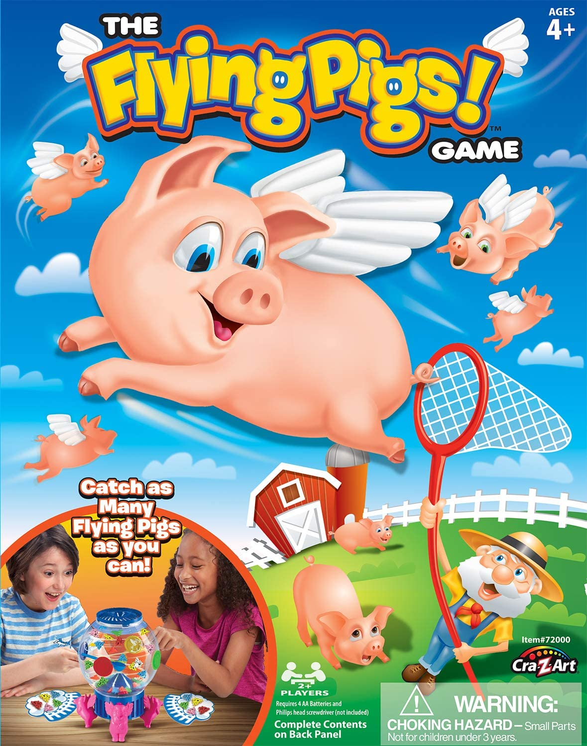 THE FLYING PIGS GAMES