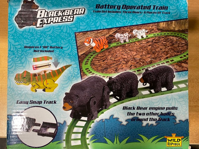 Black Bear Express train 9 pcs