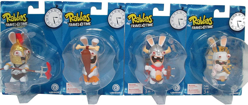 Raving Rabbids Travel in Time 12 - Blue Box Assorted Figures