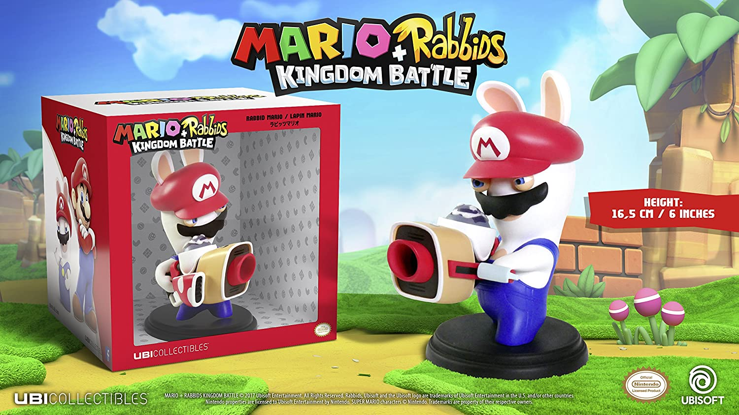 "Mario + Rabbids Kingdom Battle: 6"" Figurine"