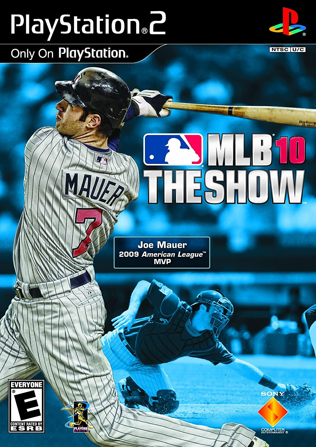 PS2 MLB 10 The Show Video Game T783