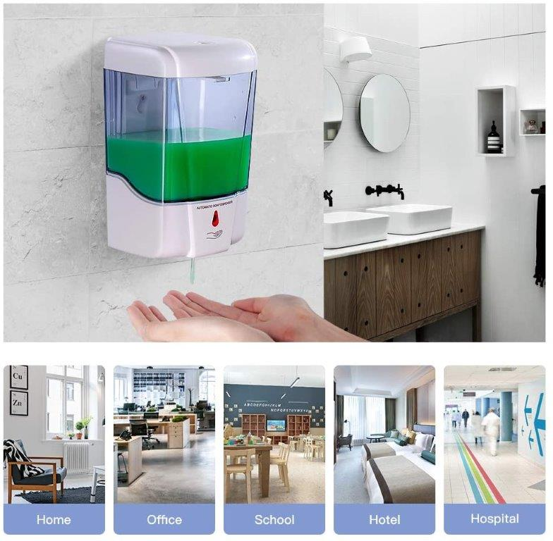 AUTOMATIC WALL SOAP/GEL DISPENSER ( 700ML )