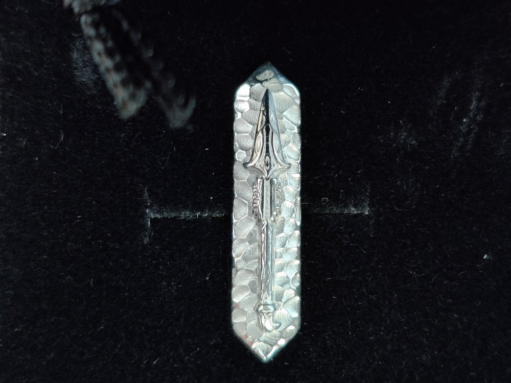 Assassin Creed Odyssey Spear Pin in Sterling Silver O/S