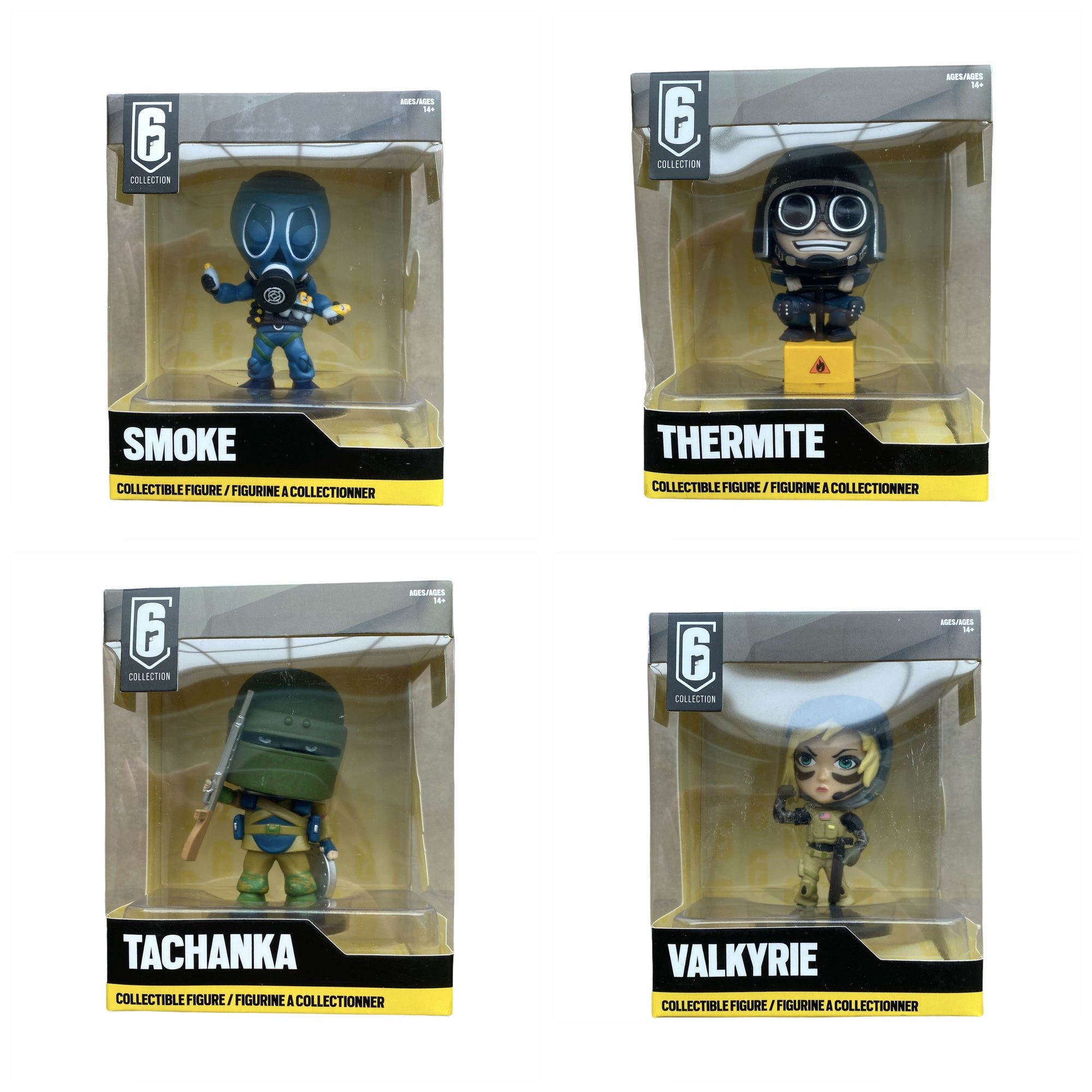 Rainbow Six Siege Chibi Ultimate Bundle Pack Series 1 2 3 And 4