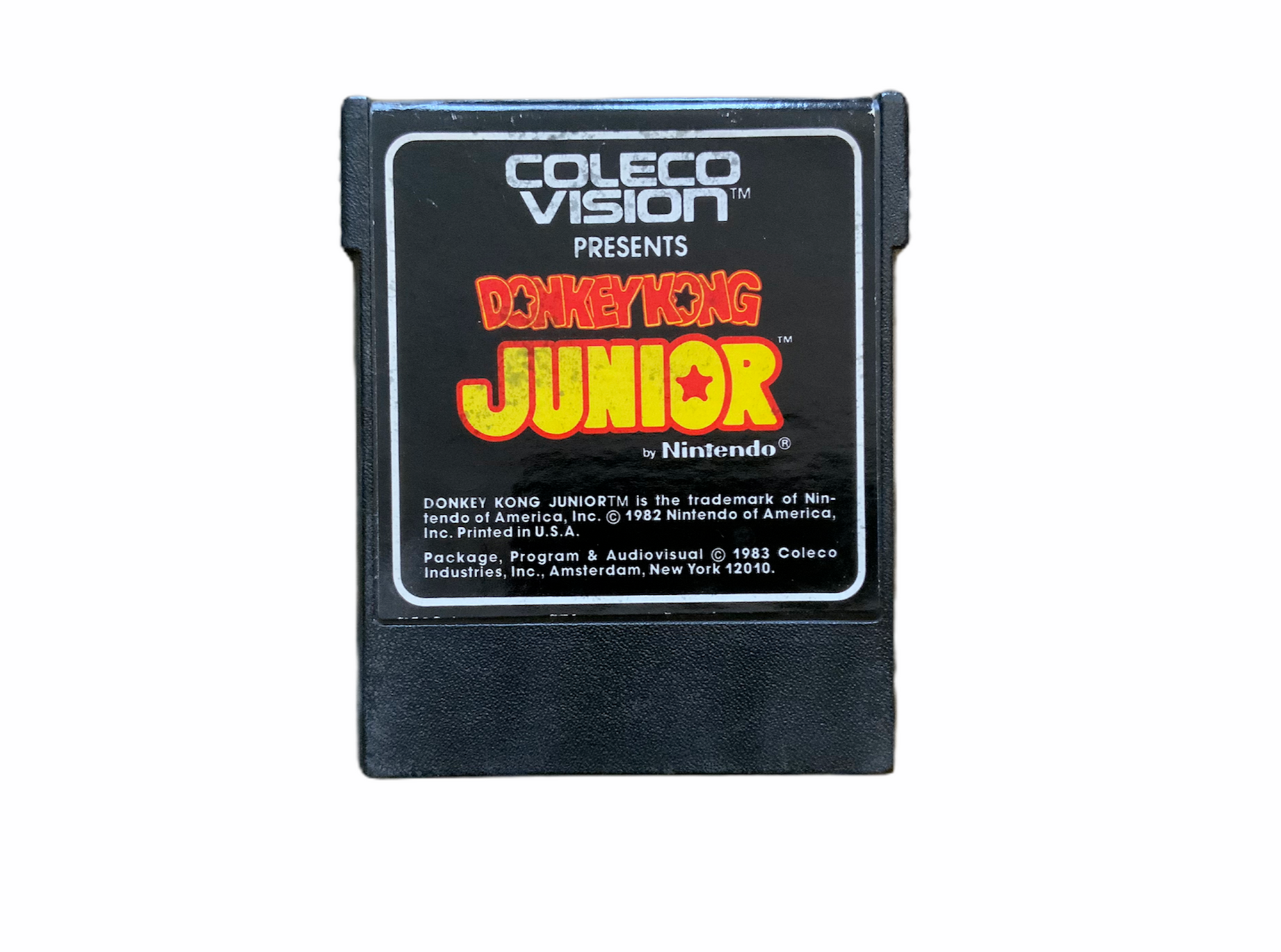 Colecovision Donkey Kong Junior Video Game Vintage Retro T831
