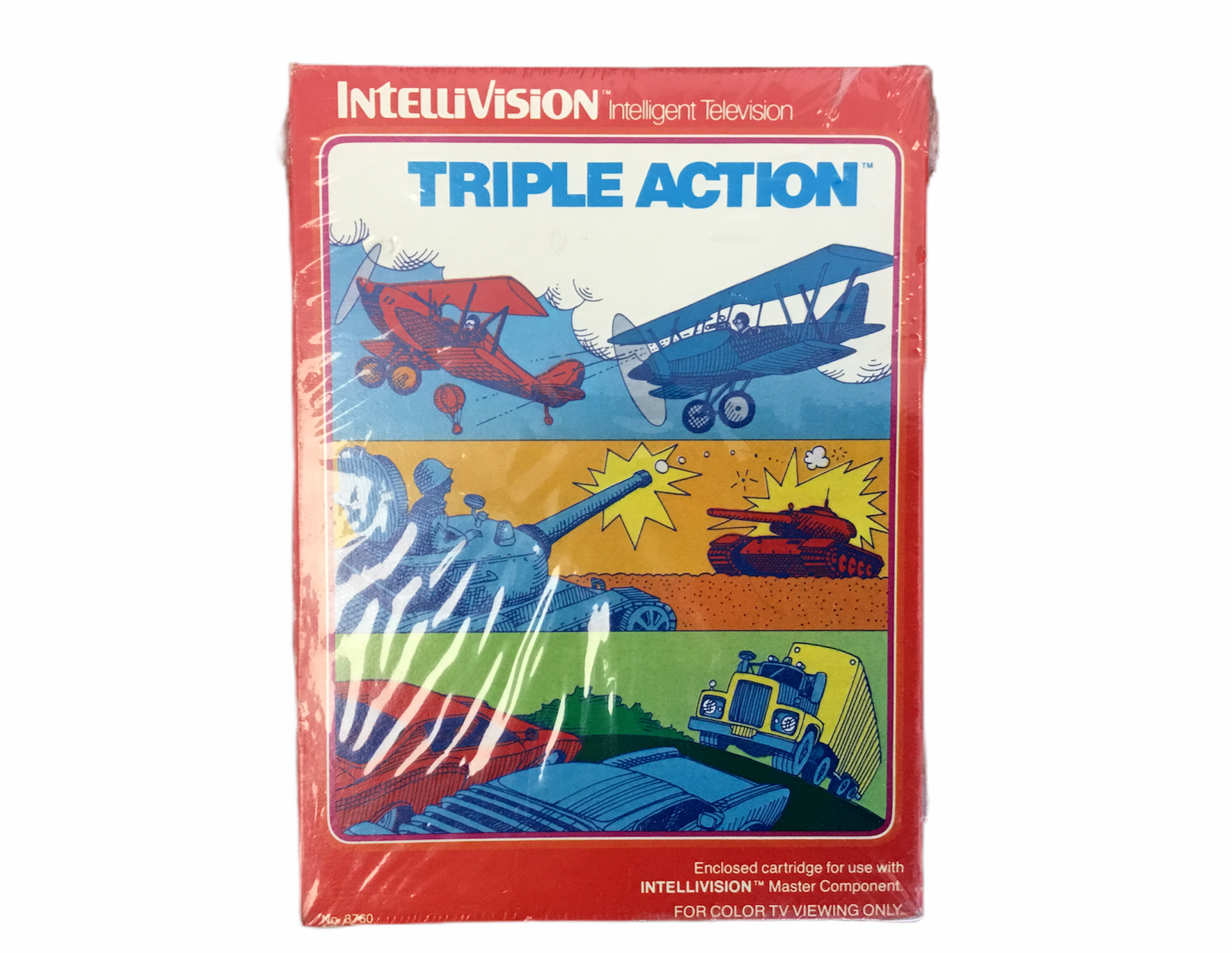 Intellivision Triple Action Vintage Retro Video Game T894