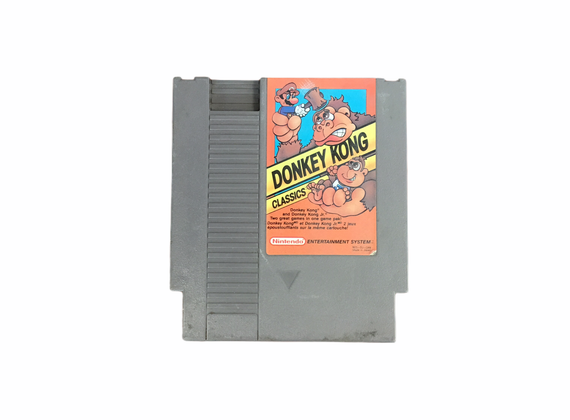 Nintendo Donkey Kong Classic Video Game Nes Cartridge Only T833